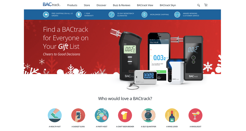 BACtrack Gift Guide