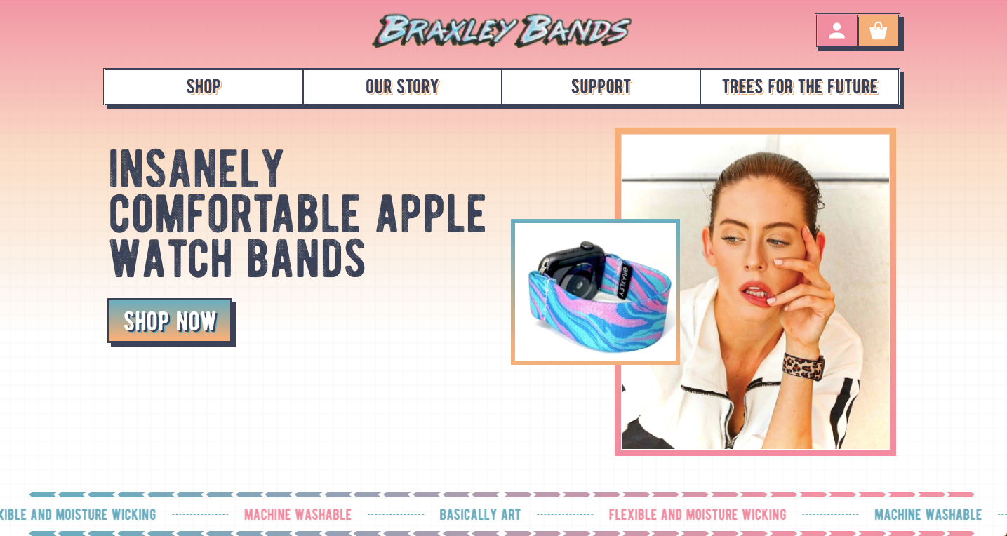 Braxley Bands Ecommerce Copywriter