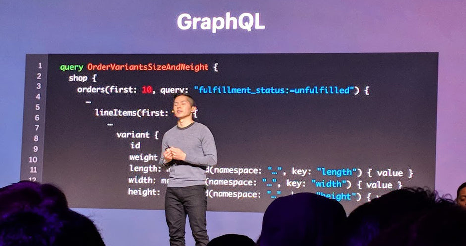 Graph QL Shopify Unite