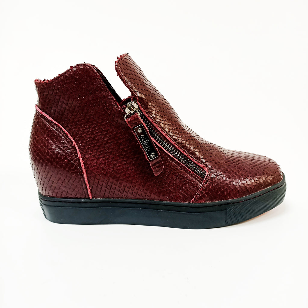 Willott Boot - Bordo Fish