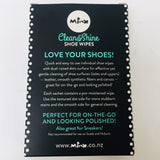 Clean and Shine Shoe Wipes