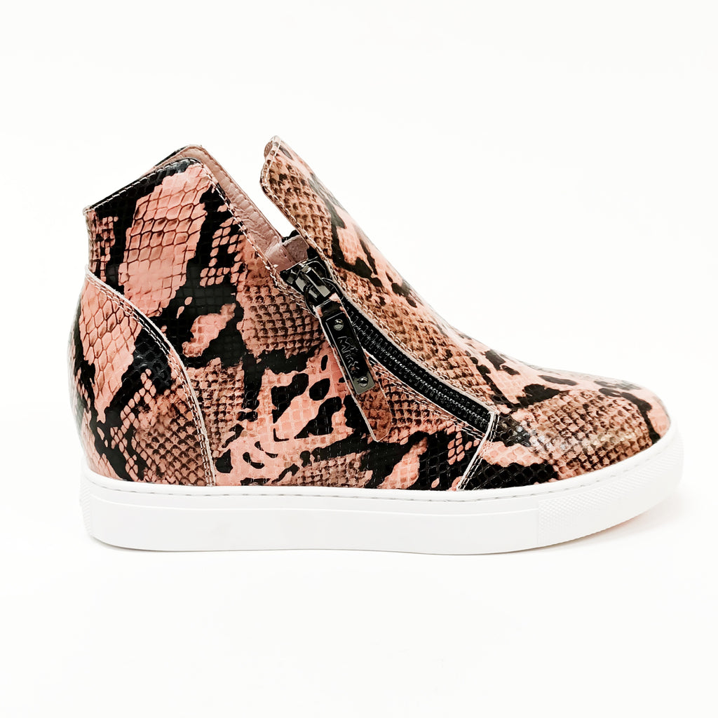 Willott Boot - Blush Python