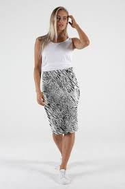 Alicia Midi Skirt - Instinct - Betty Basics