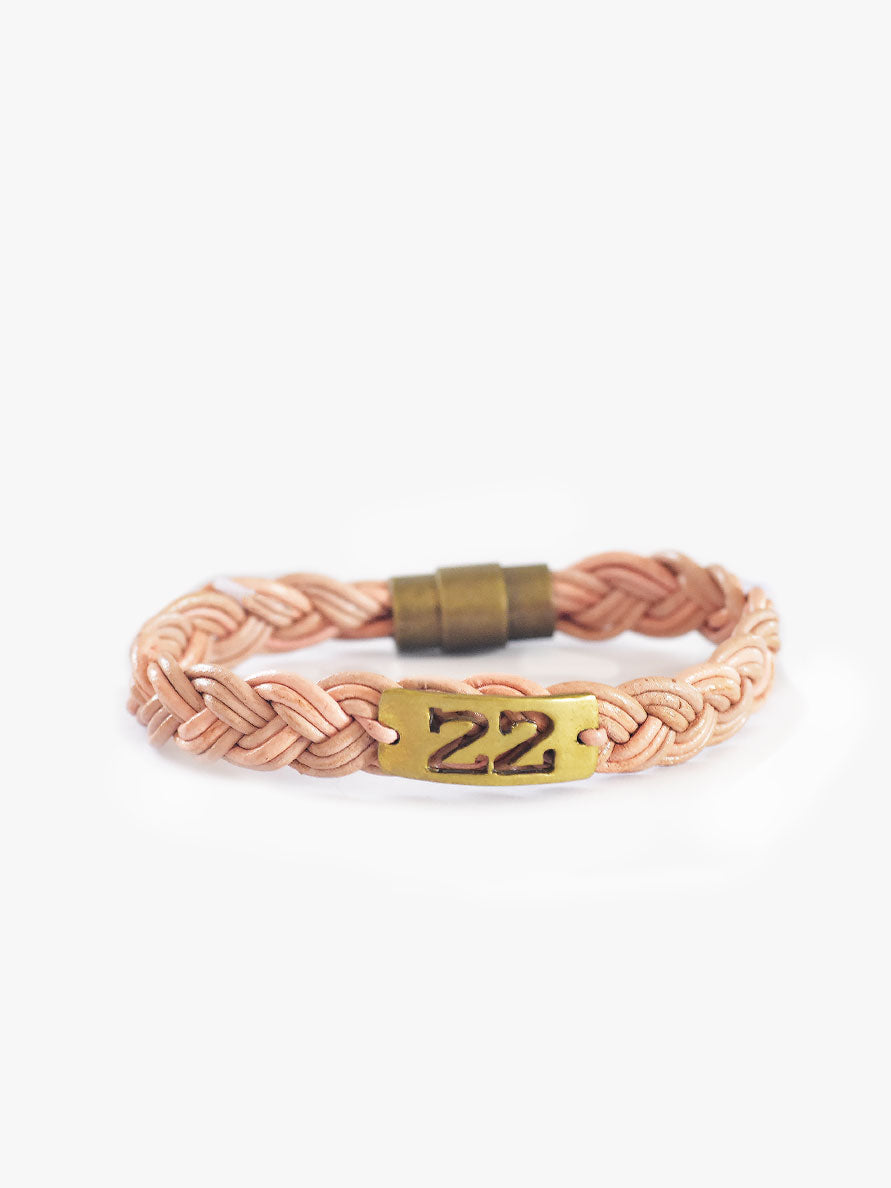 Women's Bullet Shell Bracelet [Blush]