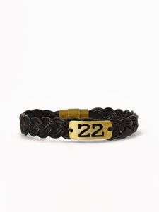 22: Women's Bullet Shell Bracelet [Black]