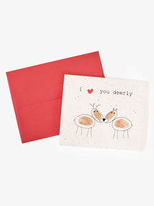 "AIM Card ""Love You Deerly"""