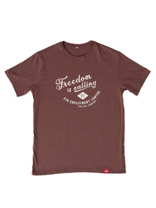 Freedom is Calling Classic Crew Neck Tee