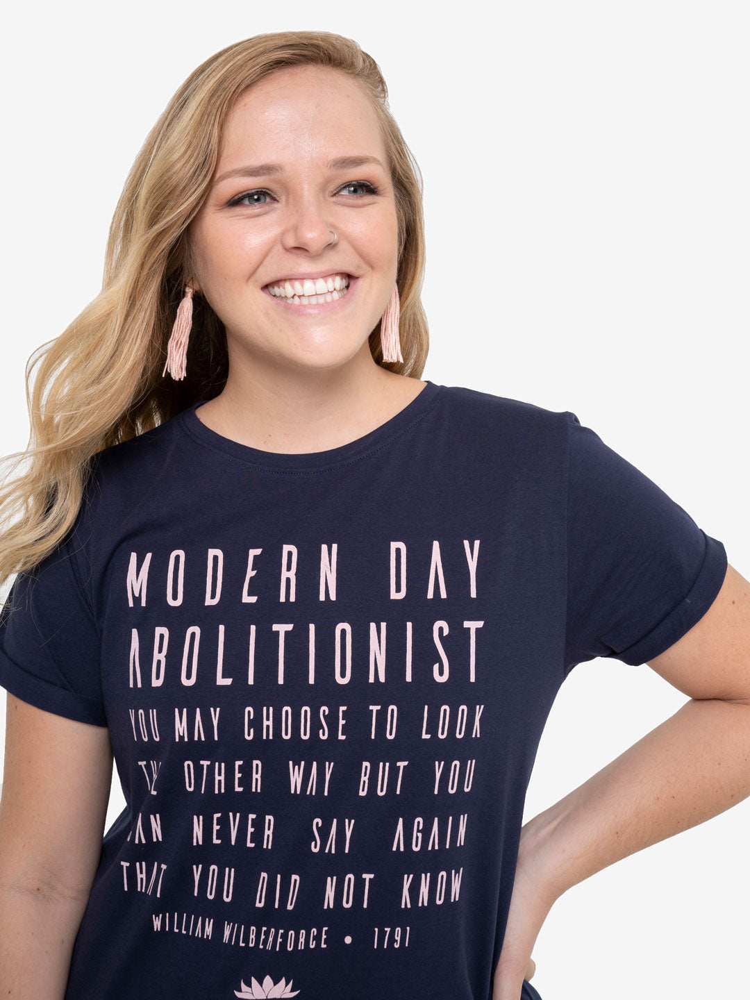 Modern Day Abolitionist Women's Relaxed Fit Tee