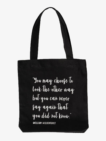 Simple Tote - William Wilberforce
