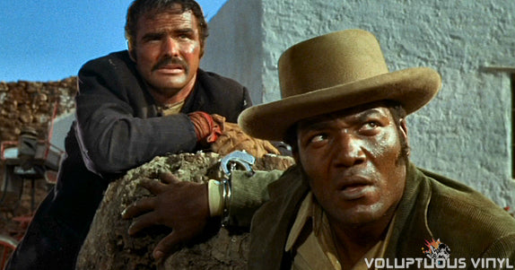 Burt Reynolds & Jim Brown in 100 Rifles