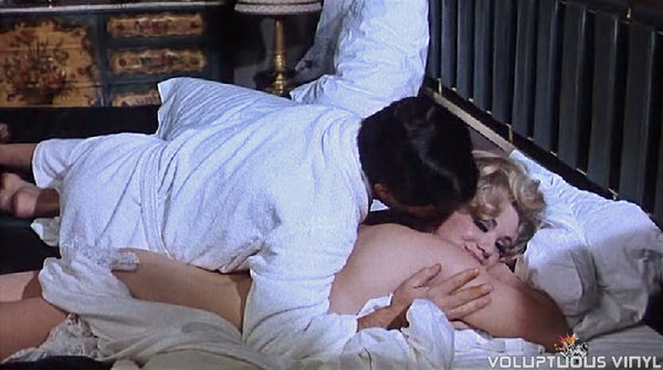 Marcello Mastroianni and Virna Lisi in Casanova '70