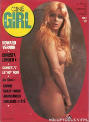Christa Linder Cine Girl Magazine Cover