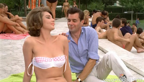Sylva Kosina & Dirk Bogarde in Hot Enough For June