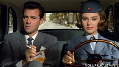 Dirk Bogarde & Sylva Koscina in Hot Enough For June
