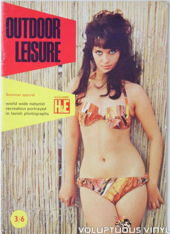 Femi Benussi - Outdoor Leisure Magazine Cover