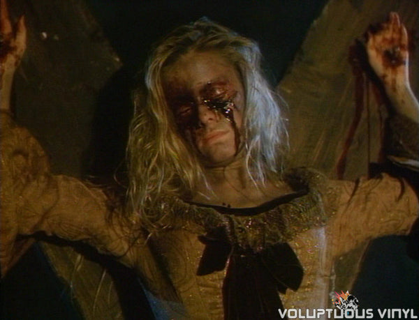 Nicole Eggert as a witch in The Haunting of Morella