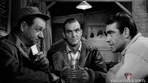 Stanley Baker and Sean Connery in Hell Drivers
