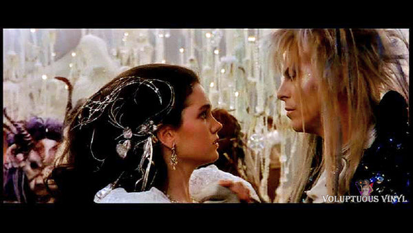Jennifer Connelly & David Bowie in Labyrinth