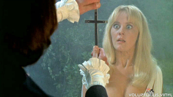 Yutte Stensgaard as Carmilla in Lust for a Vampire