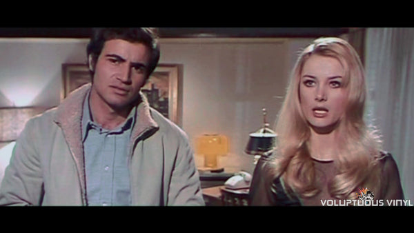 Antonio Sabato and Barbara Bouchet