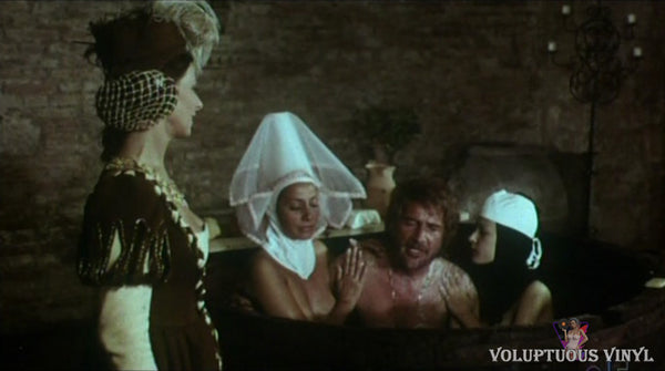 Rossano Brazzi bathing with nuns in Master Of Love