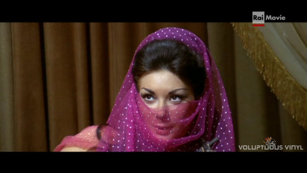 Edwige Fenech as Aisica in the Nights and Loves of Don Juan
