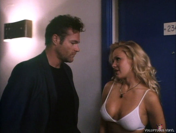 Pamela Anderson and David Keith in Raw Justice