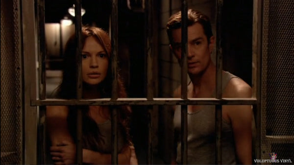 Jolene Blalock and James Marsters starring inside a cell in Shadow Puppets