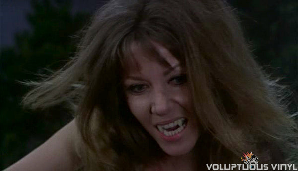The Vampire Lovers Ingrid Pitt attacks