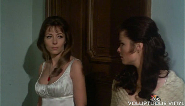 The Vampire Lovers Ingrid Pitt and Kate O'Mara