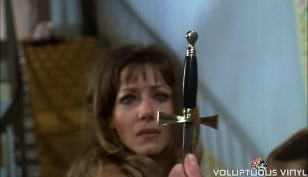 Vampire Lovers Ingrid Pitt Cross