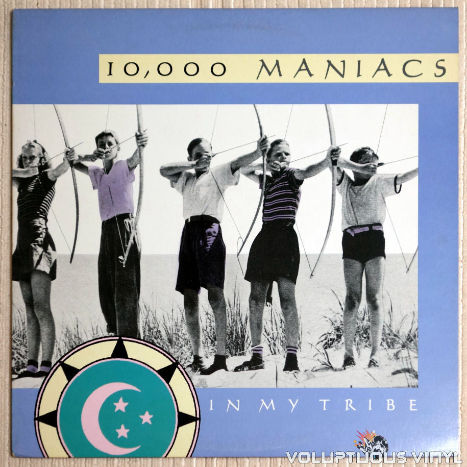 10,000 Maniacs ‎– In My Tribe - Vinyl Record - Front Cover