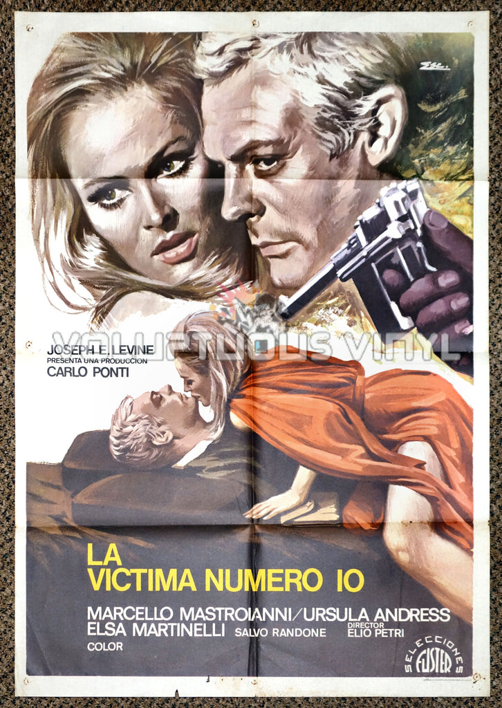The 10th Victim 1975 Spanish 1 Sheet Movie Poster