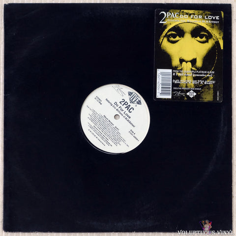 "2Pac Featuring Eric Williams Of Blackstreet ‎– Do For Love (1997) 12"" Single"