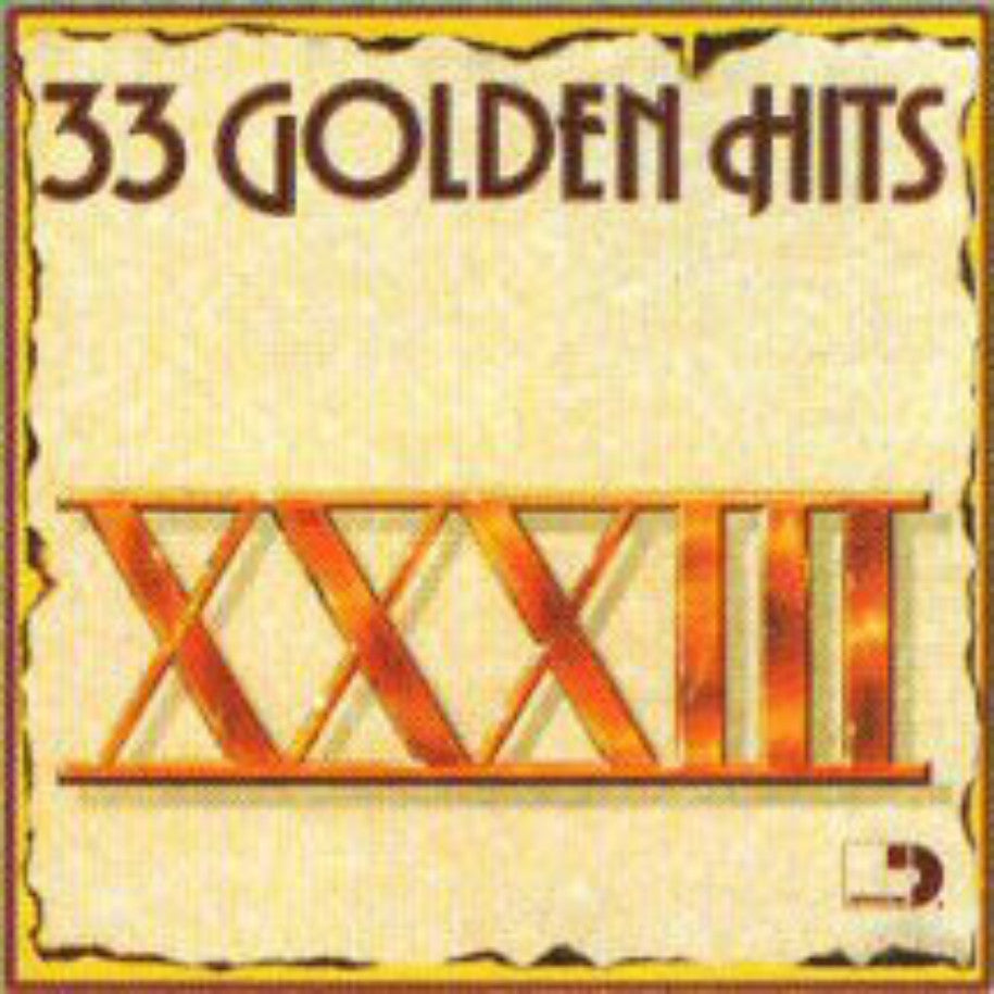 33 Golden Hits - Vinyl Record - Front Cover