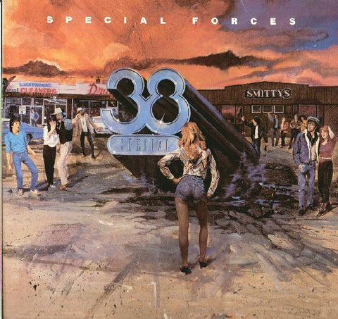 .38 Special ‎– Special Forces (1982) Cheap Vinyl Record