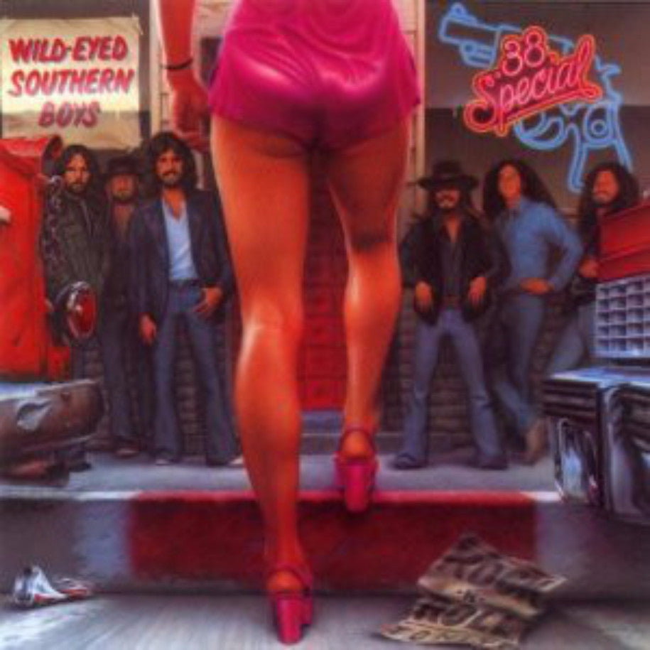.38 Special ‎– Wild-Eyed Southern Boys (1980) Cheap Vinyl Record