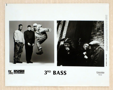 3rd Bass - Def Jam Recordings - Promotional Photo