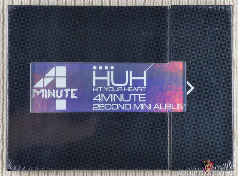 4Minute ‎– Hit Your Heart (2econd Mini Album) (2010) Korean Press, SEALED
