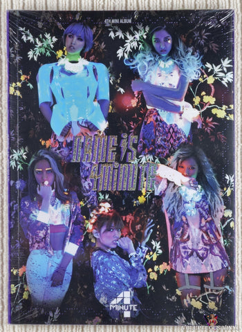 4Minute ‎– Name Is 4Minute CD front cover