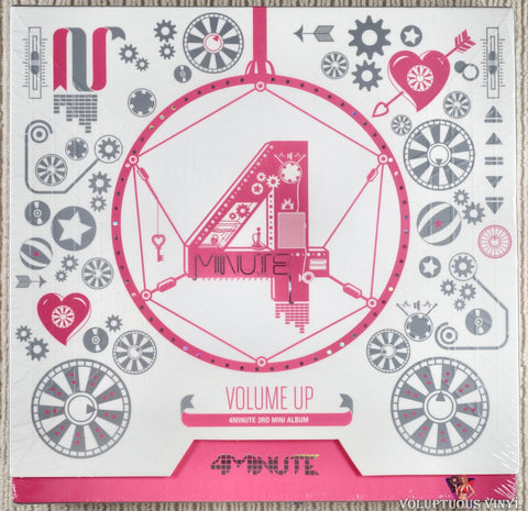 4Minute ‎– Volume Up (2012) Korean Press, SEALED