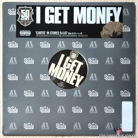 50 Cent ‎– I Get Money vinyl record front cover