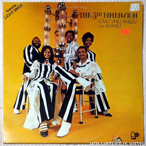 The 5th Dimension ‎– Love's Lines, Angles And Rhymes - Vinyl Record - Front Cover