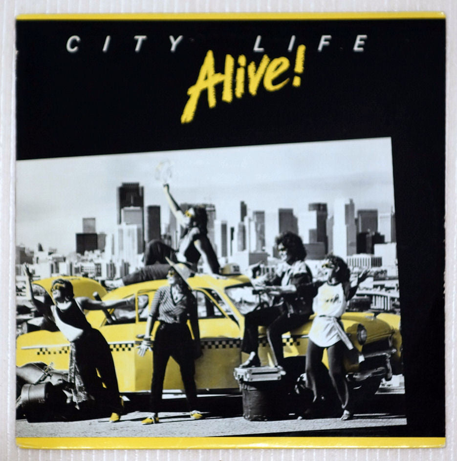 Alive! ‎City Life Front Cover Vinyl Record
