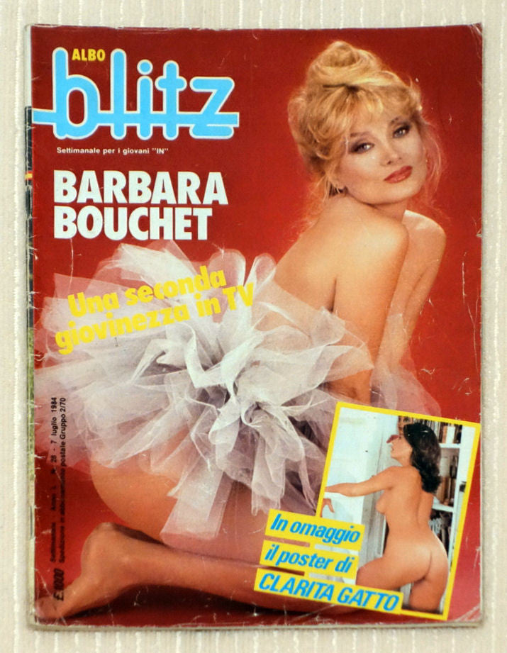 Alto Blitz - July 1984 - Barbara Bouchet - Front Cover