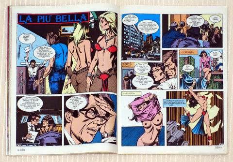 Alto Blitz - July 1984 - Sexy Italian Comic