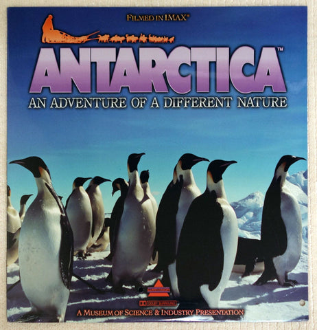 Antarctica An Adventure Of A Different Nature (1991) SEALED
