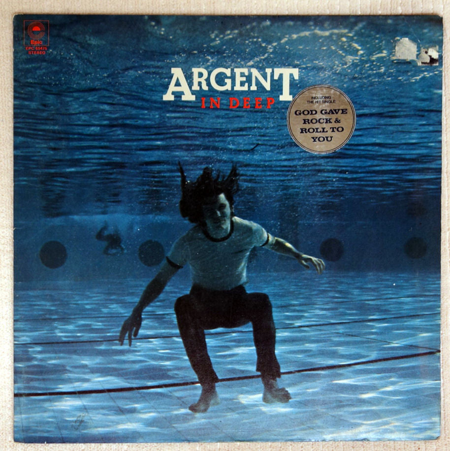 Argent In Deep UK vinyl record front cover.
