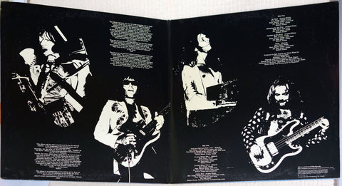 Argent In Deep UK vinyl record inner gatefold.