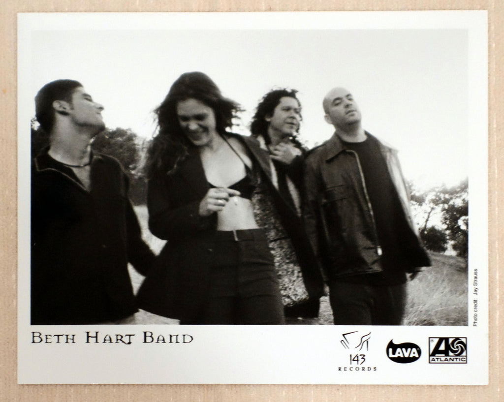 Beth Hart Band - Atlantic Records - Promotional Photo